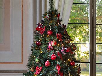 Alberi Di Natale In Legno Addobbati : Natale addobbi e decorazioni per la casa coincasa